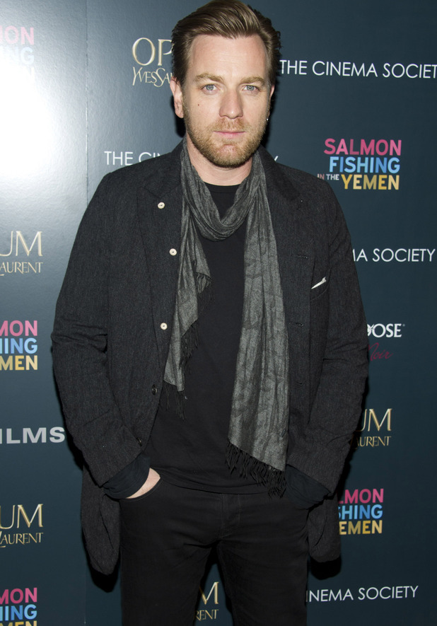 Ewan McGregor - Coltrane's fellow Scot - star of hit movies including the Star Wars prequel trilogy and Moulin Rouge, is 41 on Saturday.