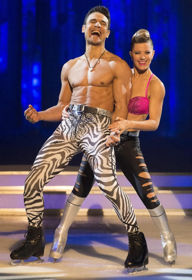 Chico and Phillipa perform their favourite routine.