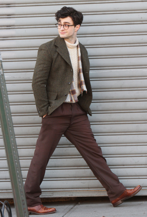 Daniel Radcliffe on Kill Your Darlings set in NYC