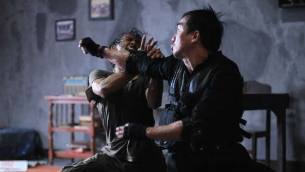 Digital Spy debuts the exclusive UK trailer for Gareth Evans's Indonesian action epic 'The Raid'.