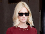 January Jones leaves her Manhattan hotel New York City,