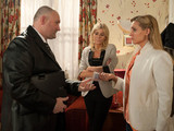 Stella gets a nasty shock when bailiffs turn up at the pub wanting to recover items over Karl's debt
