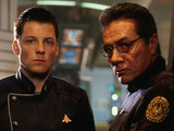 &#39;Battlestar Galactica&#39; Jamie Barber, Edward James Olmos