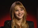 Jennifer Lawrence talks to Digital Spy about playing Katniss Everdeen.