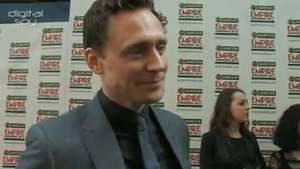 'The Avengers' Tom Hiddleston on who had the biggest trailer and the biggest biceps!