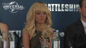 Rihanna on her movie debut in 'Battleship'