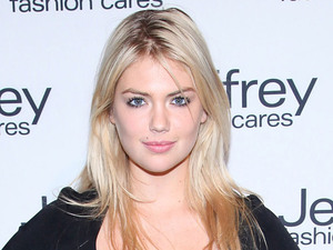 Kate Upton Jeffrey Fashion Cares 2012 held at the Intrepid Aircraft Carrier New York City
