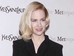 January Jones The Metropolitan Opera's premiere of 'Jules Massenet's Manon', held at the Metropolitan Opera House, Lincoln Center - Arrivals
