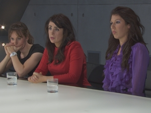 Jenna, Jane and Maria on The Apprentice S08E02