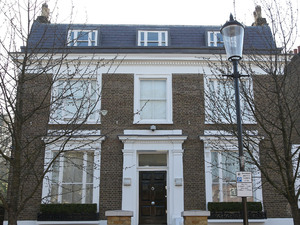 The London home of Simon Cowell. Leanne Zaloumi, 29, is due to appear at West London magistrates court on Monday charged with one count of aggravated burglary after allegedly breaking into the house on Saturday night London, England
