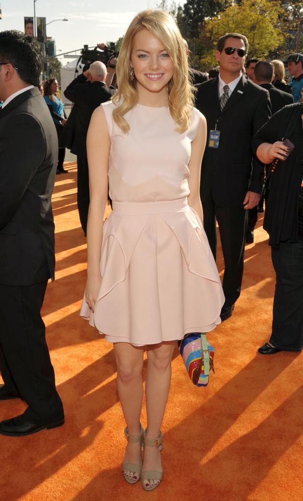 Nickelodean Kids Choice Awards 2012 - Emma Stone