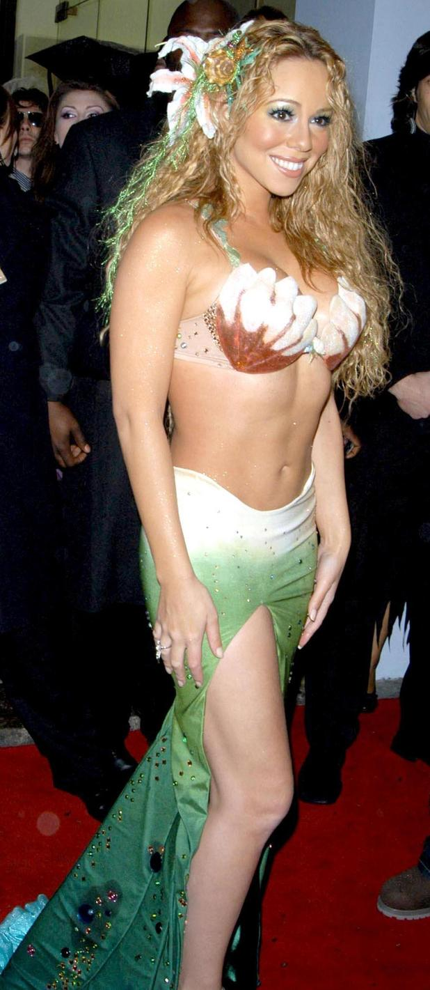 Mariah Carey halloween mermaid