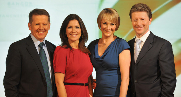 BBC Breakfast: Bill Turnbull, Susanna Reid, Louise Minchin, Charlie Stayt