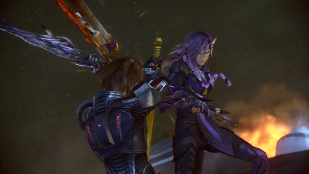 Final Fantasy XIII-2 Mass Effect costumes screenshot