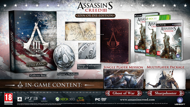 'Assassin's Creed III' collector's edition