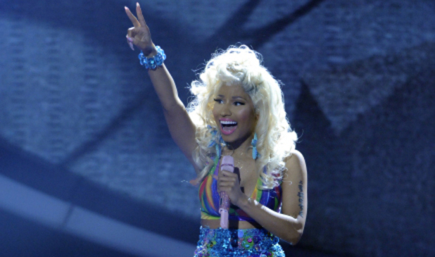 Nicki Minaj performs on American Idol