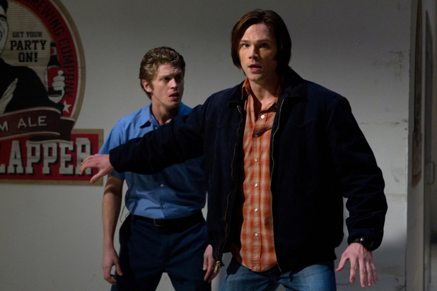 Andrew Francis as Lee, Jared Padalecki as Sam