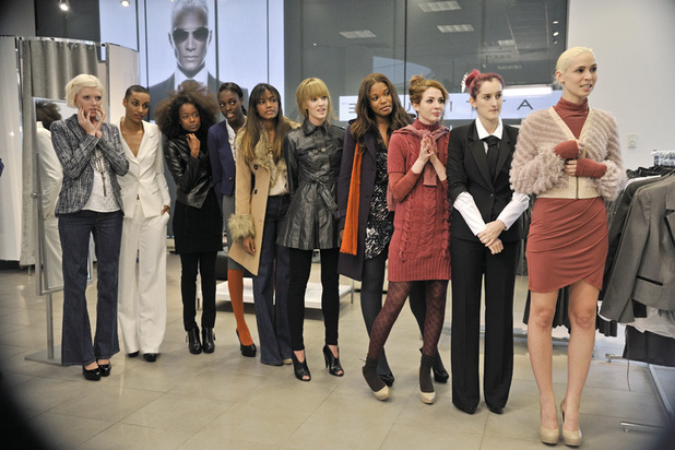ANTM Brit Invasion Episode 5 - 'Beverly Johnson' - Sophie, Azmarie, Annaliese, Alisha, Eboni, Kyle, Seymone, Ashley, Catherine and Laura