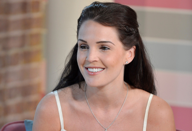 Danielle Lloyd on This Morning