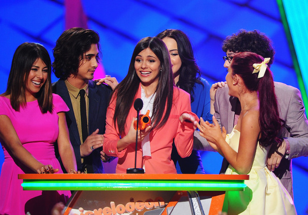 Nickelodean Kids Choice Awards 2012 - The cast of 'Victorious'