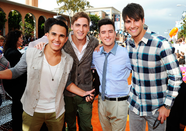 Nickelodean Kids Choice Awards 2012 - Big Time Rush.