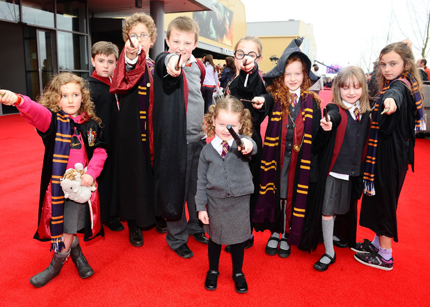 Harry Potter Studio Tour: Fans shows their delight at the grand opening.