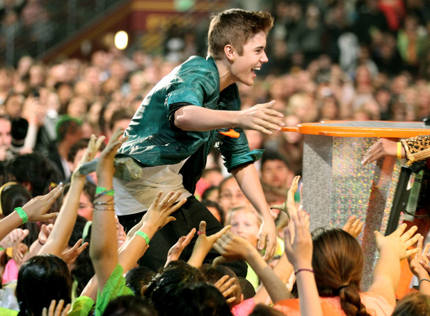 Nickelodean Kids Choice Awards 2012 - Justin Bieber