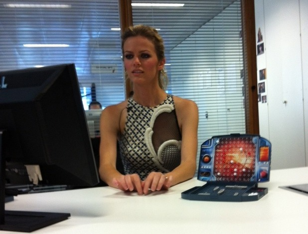 Brooklyn Decker at Digital Spy Twitter chat.