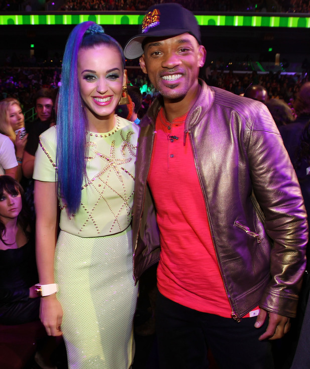 Nickelodean Kids Choice Awards 2012 - Katy Perry and Will Smith