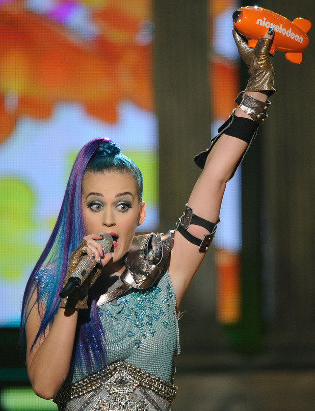 Nickelodean Kids Choice Awards 2012 - Katy Perry