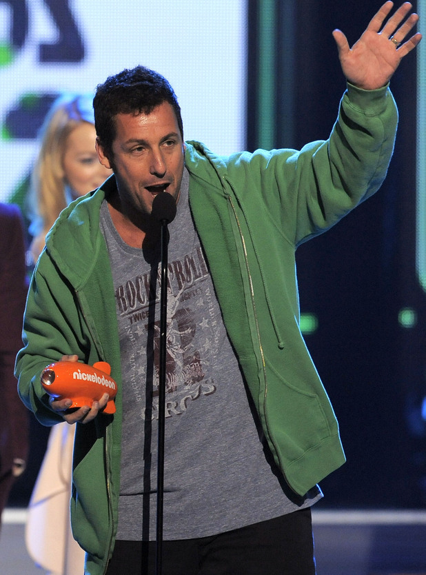 Nickelodean Kids Choice Awards 2012 - Adam Sandler 