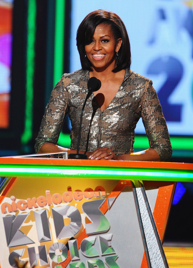 Nickelodean Kids Choice Awards 2012 - Michelle Obama