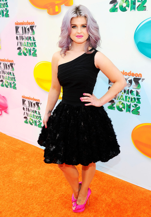 Nickelodean Kids Choice Awards 2012 - Kelly Osbourne