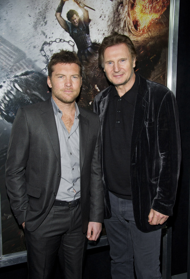 Sam Worthington and Liam Neeson