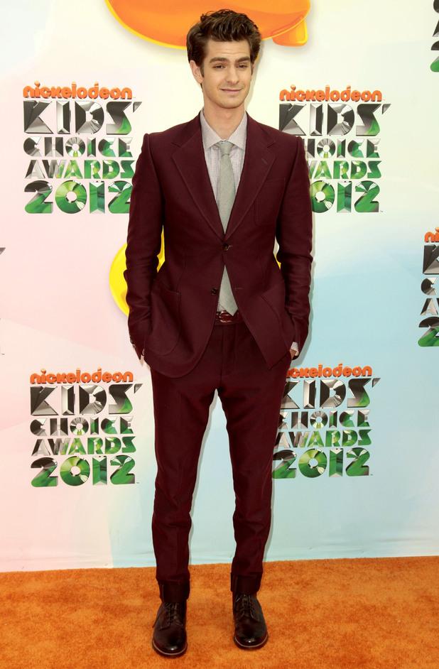 Nickelodean Kids Choice Awards 2012 - Andrew Garfield