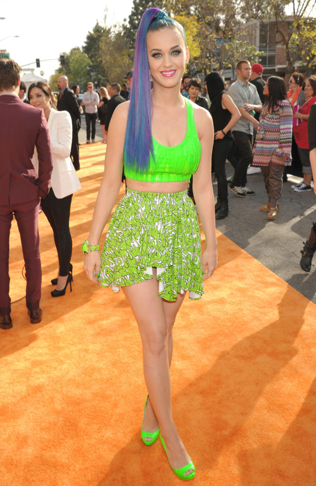 Nickelodean Kids Choice Awards 2012 - Katy Perry