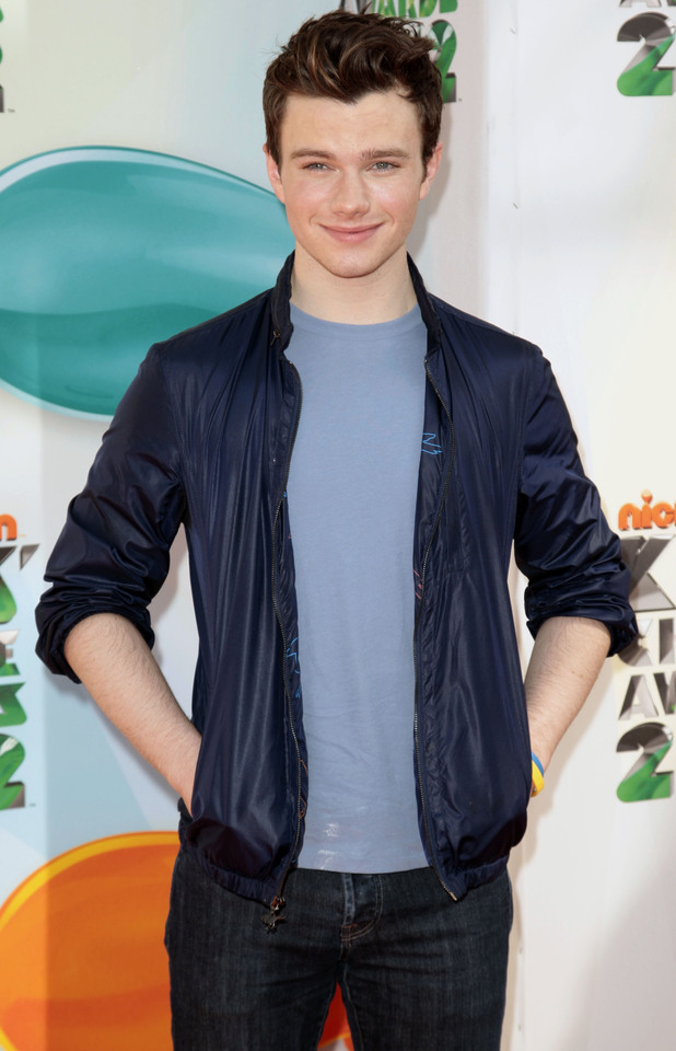 Nickelodean Kids Choice Awards 2012 - Chris Colfer
