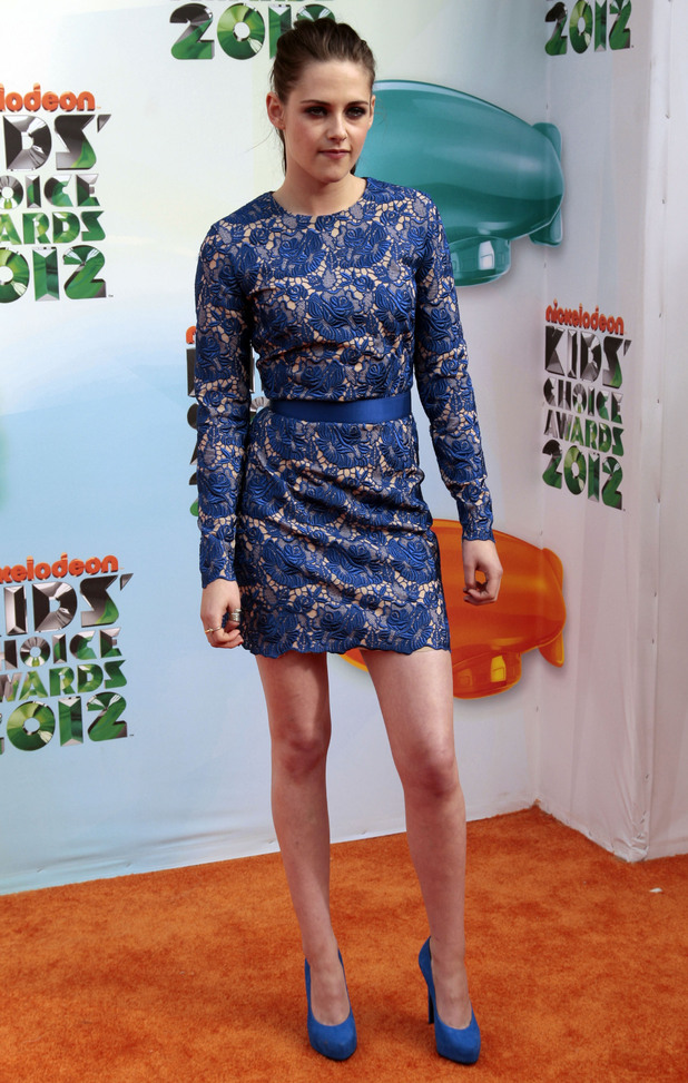 Nickelodean Kids Choice Awards 2012 - Kristen Stewart