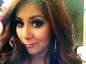 Snooki tweets a photo of her ample cleavage thanks to her pregnancy.