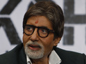 Amitabh Bachchan admits he is finding it strange to be performing again.