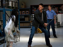 The Winchesters battle a monster who can only be seen while drunk.