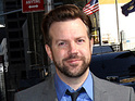 Jason Sudeikis Celebrities arrive at The Ed Sullivan Theater for 'The Late Show with David Letterman' New York City