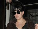 Today's pictures include the largely absent Lily Allen dining out with husband Sam Cooper.
