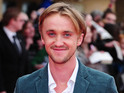 Tom Felton shares photos that show him catching up with his co-stars in LA.