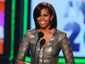 The US First Lady will appear in an upcoming show of The Colbert Report.