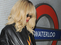 The Bajan star makes her third Underground trip while in London.
