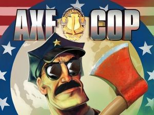 Axe Cop President of the World