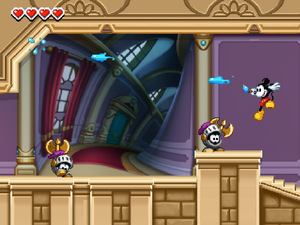 'Epic MIcky' 3DS screenshot