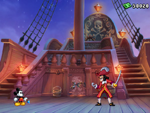 &#39;Epic MIcky&#39; 3DS screenshot