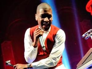 Labrinth and iLuminate perform at the Labrinth album launch party